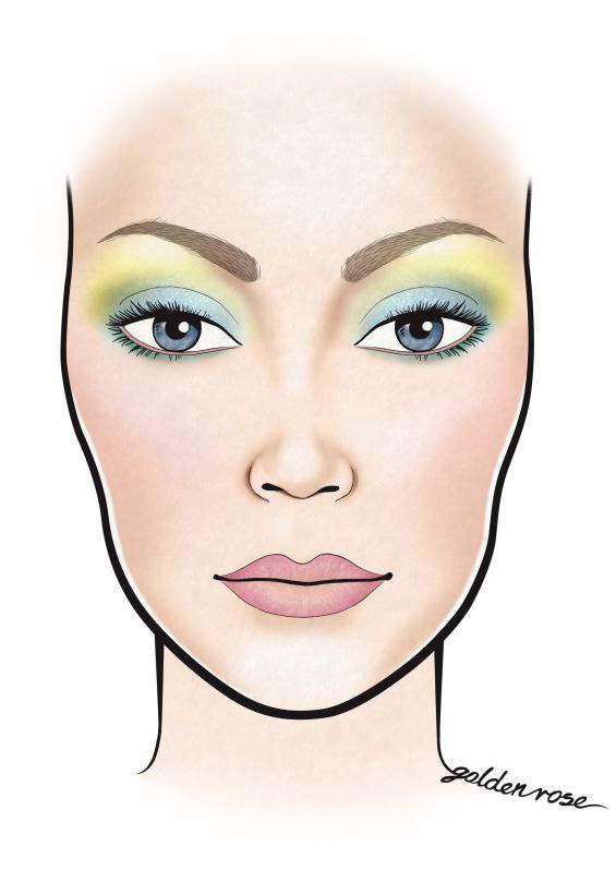 Czas na pasteLOVE makijaże! Zainspiruj się facechartem Golden Rose! Sprawdźcie, jaki makijaż będzie najmodniejszy wiosną.