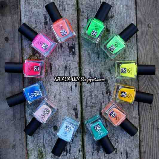Neonowy zawrót głowy! Propozycje pięknego manicure! Widziałyście już najnowszą edycję lakierów Ice Chic?