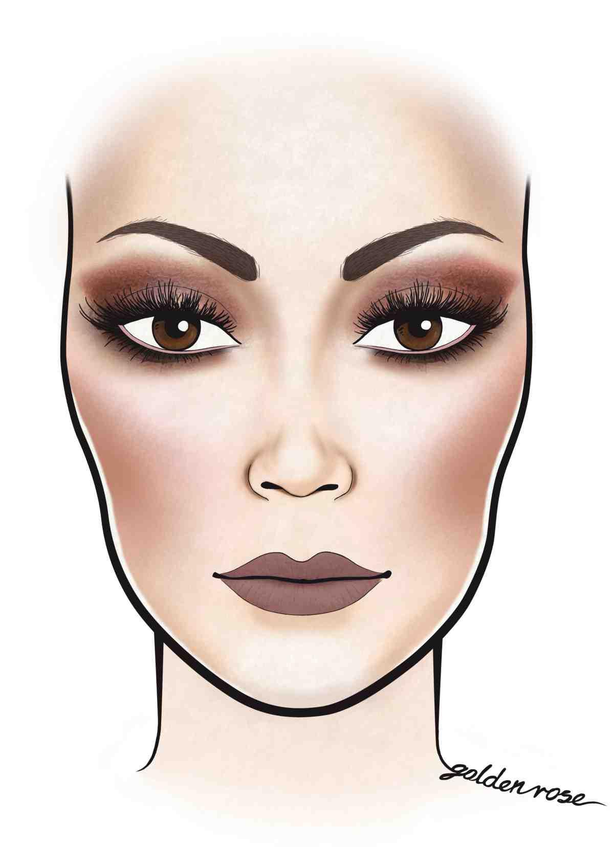 Wykonaj imponujący makijaż w stylu gwiazd – facechart Golden Rose! Poznajcie naszą odsłonę makijażu w stylu Kylie Jenner!