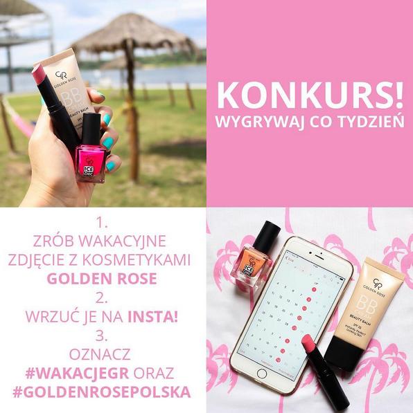 Przypominamy o wakacyjnym konkursie  na naszym Instagramie! Zabierz nas ze sobą na wakacje i wygrywaj!
