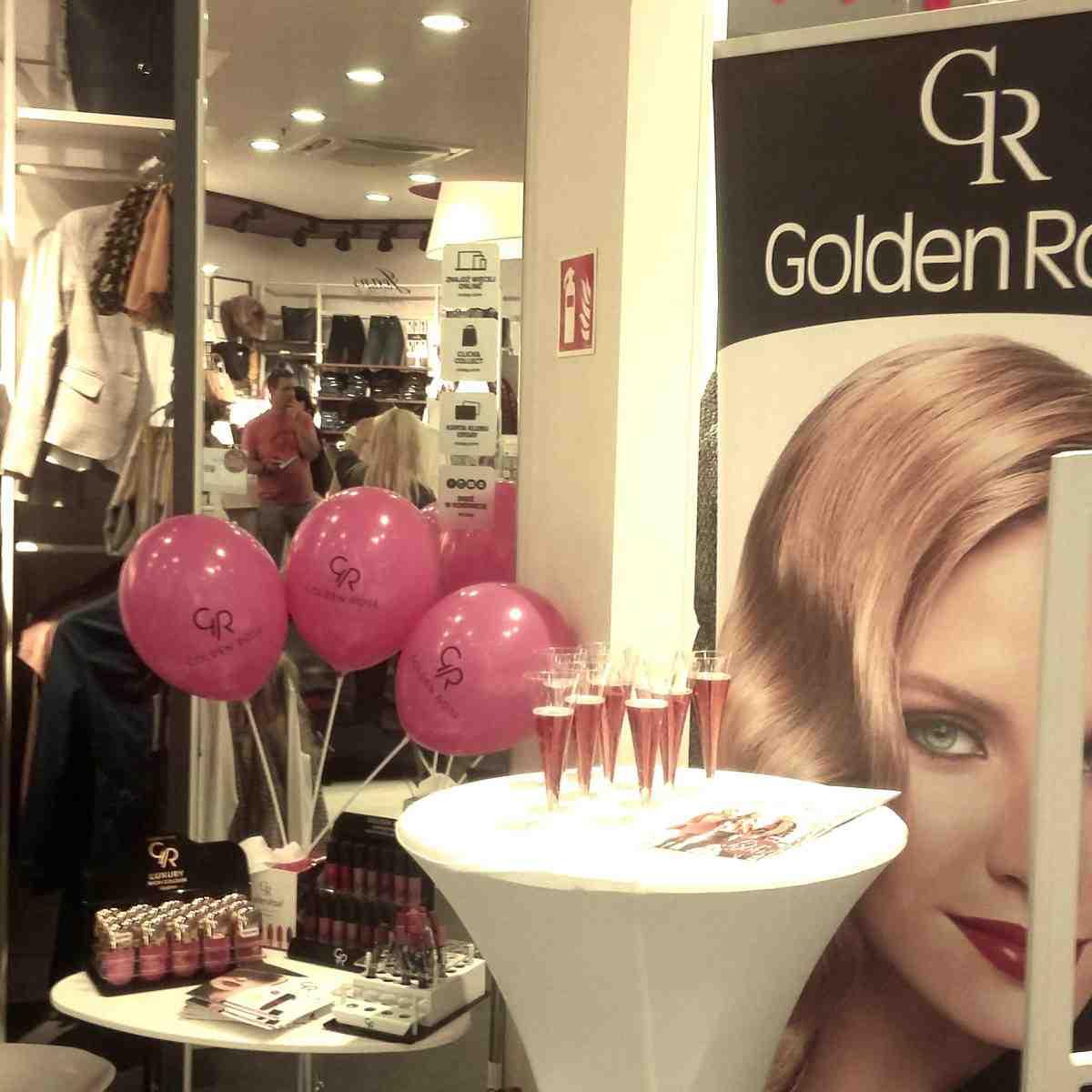 Dobór kolorystyczny pomadek pomógł podkreślić urodę poznanianek! Golden Rose podpowiadało klientkom Orsay w King Cross Marcelin w Poznaniu.