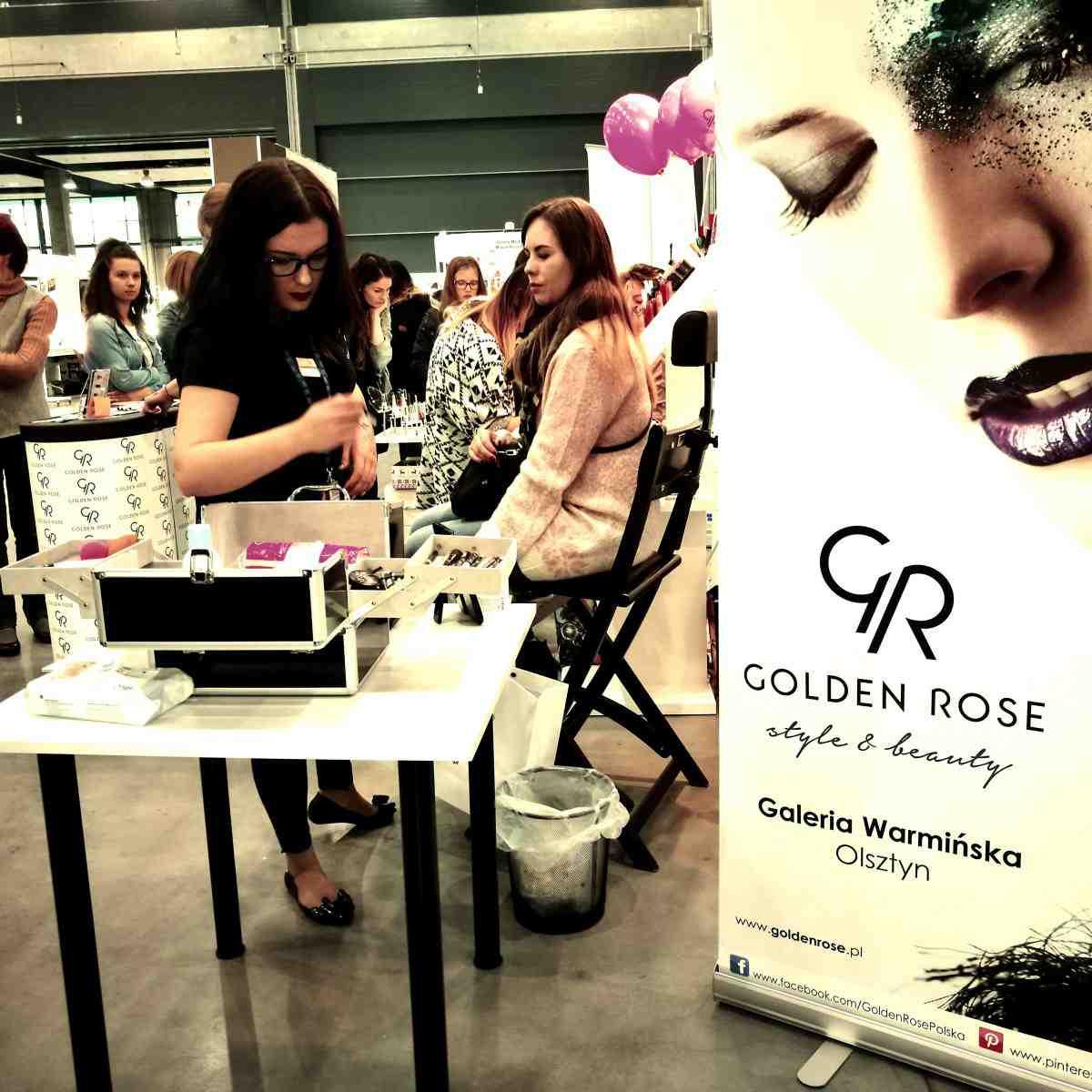 Wizażyści Golden Rose spotkali się z Wami na  targach urodowych! Tym razem zawitaliśmy do Ostródy !