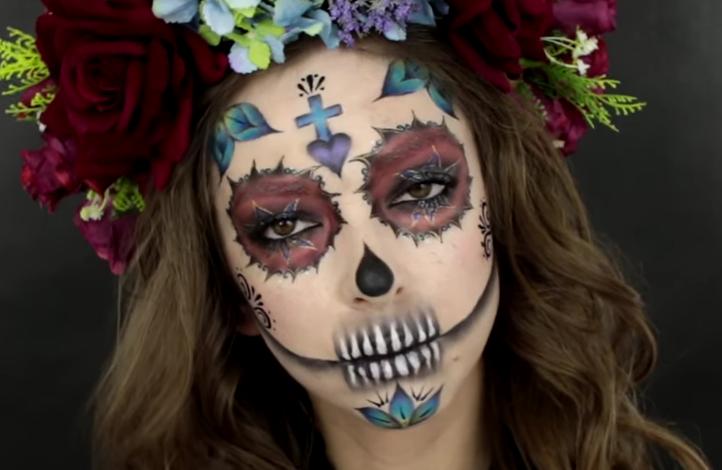 Zapierający dech halloweenowy makijaż – słodka wersja La Cartina Prawdziwa perełka w wykonaniu niezrównanej Paulina Show