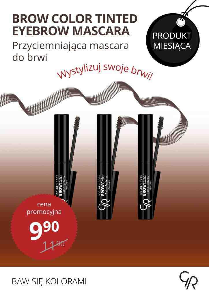 Listopad miesiącem pięknych brwi! Stawiamy na ich wyrazistość! Tylko w listopadzie w promocyjnej cenie - przyciemniająca mascara do brwi!
