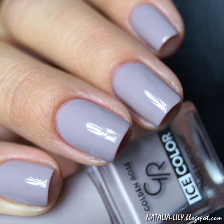 Jesienna szarość da się lubić! Wyjątkowa stylizacja paznokci z GR! Piękny odcień Pantone Sharkskin w zestawiu lakierów Ice Color