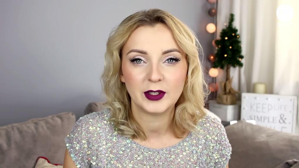 Makijaż w Sylwestrowym wydaniu – propozycja Karoliny Zientek Sylwestrowy Chat Makeup z testem trwałości nowości od GOLDEN ROSE