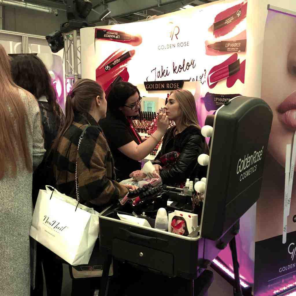 Golden Rose na kosmetycznych targach Beauty Forum w Warszawie! Golden Rose wzięło udział w warszawskich targach urody