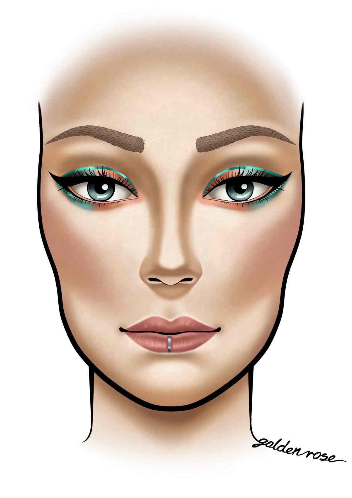 Kolorowy makijaż inspirowany facechartem – konkurs Instagramowy Zaprezentuj swój wakacyjny look.