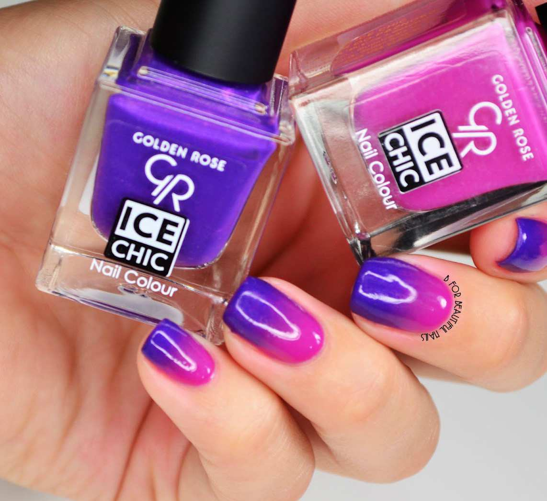 Prosty sposób na ładne paznokcie. Możesz zrobić je sama w domu. Recenzja - Gradient Nail Art.