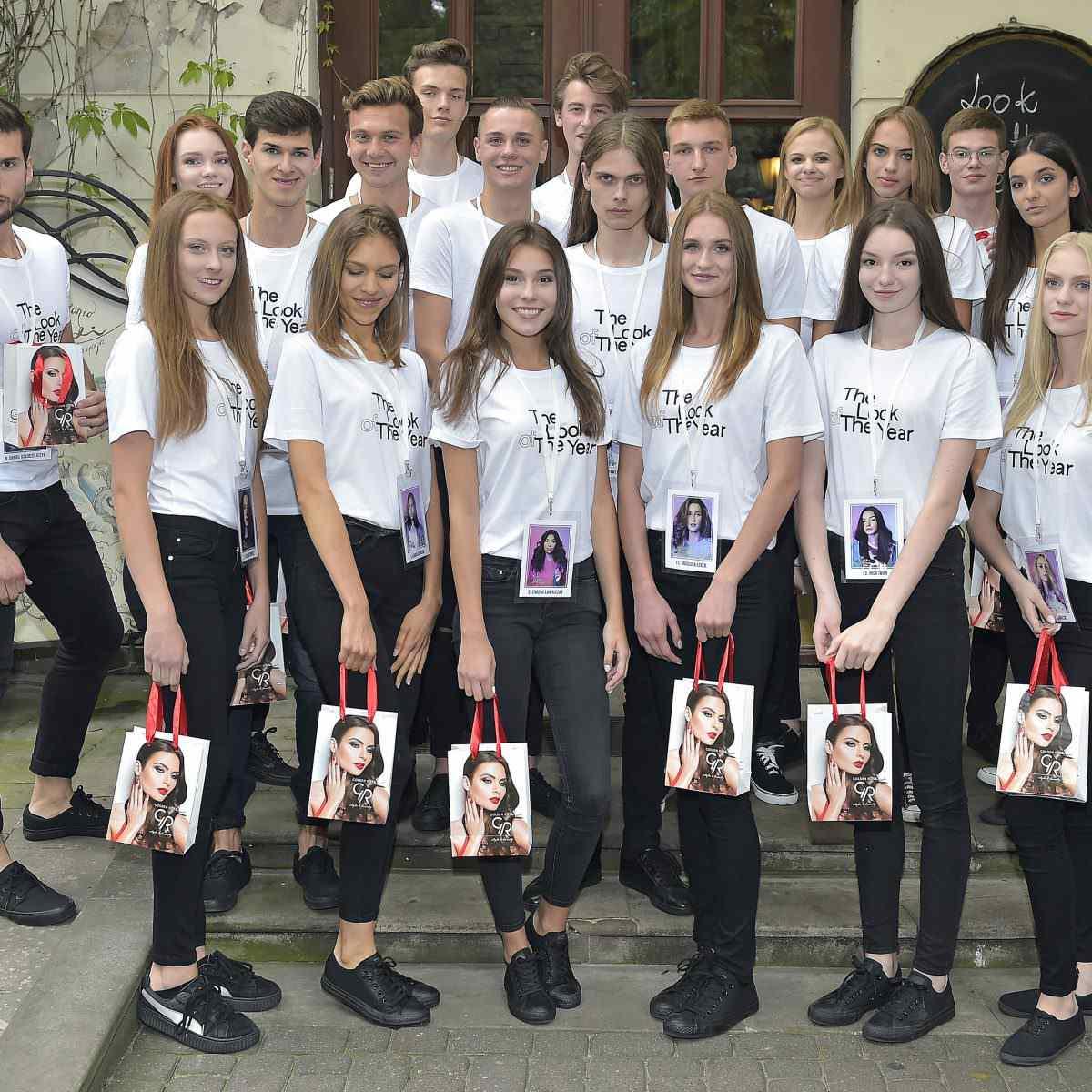 Golden Rose wykonało makijaże uczestnikom The Look of the Year Konferencja prasowa w Warszawie - 1 września