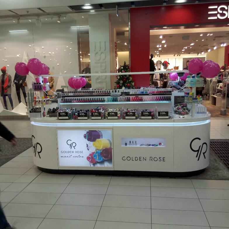 Kosmetyki Golden Rose w nowej lokalizacji w Bydgoszczy! Odwiedź nas w nowym miejscu.