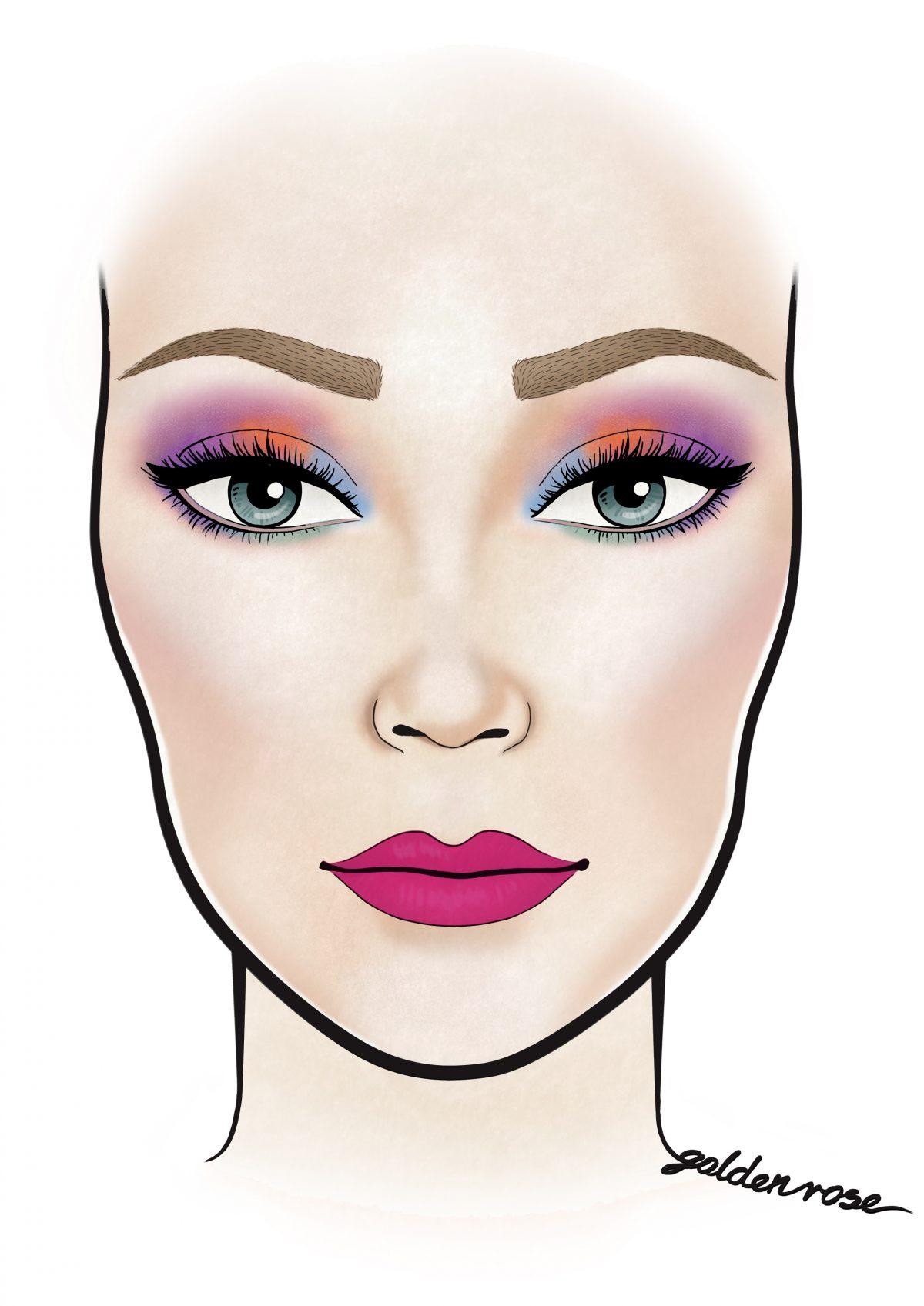 Konkurs Dziewczyna GR – prezentujemy dziś drugie zadanie makijażowe! Baw się z nami kolorami.